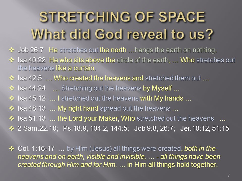 Image result for He that created the heavens, and stretched them out