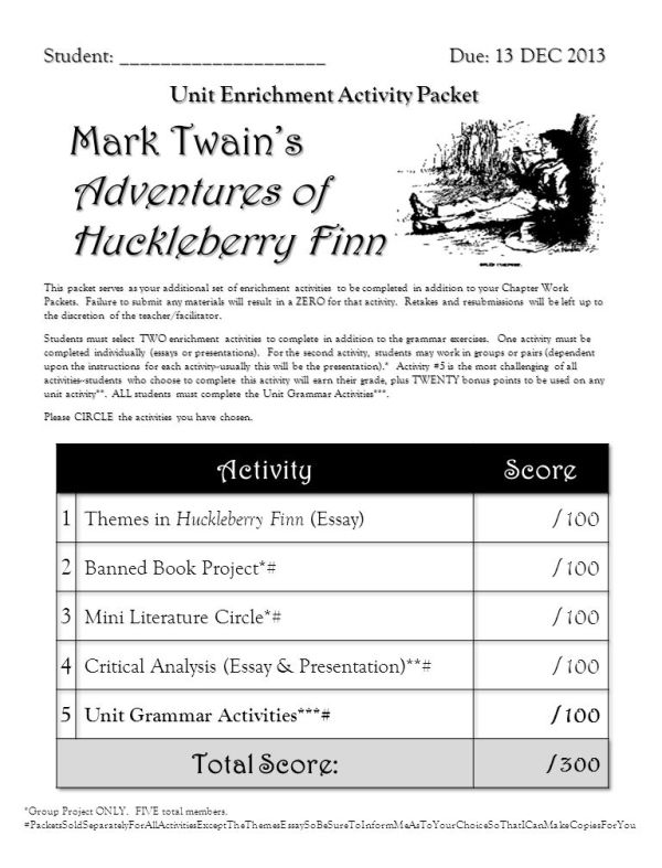 Mark Twain's Adventures of Huckleberry Finn - ppt download