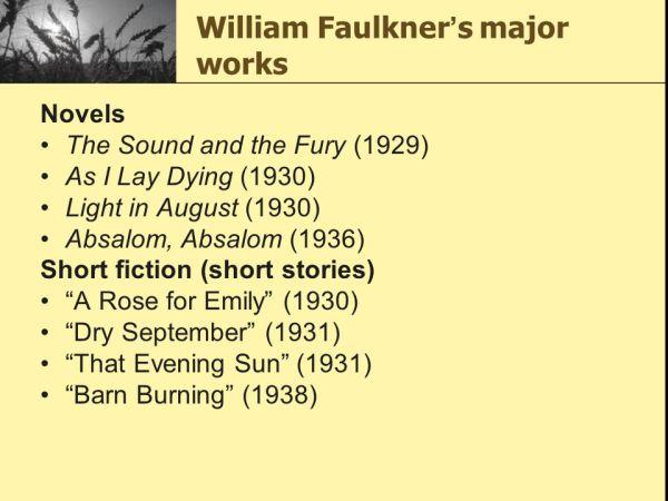 Barn Burning William Faulkner ppt video online download
