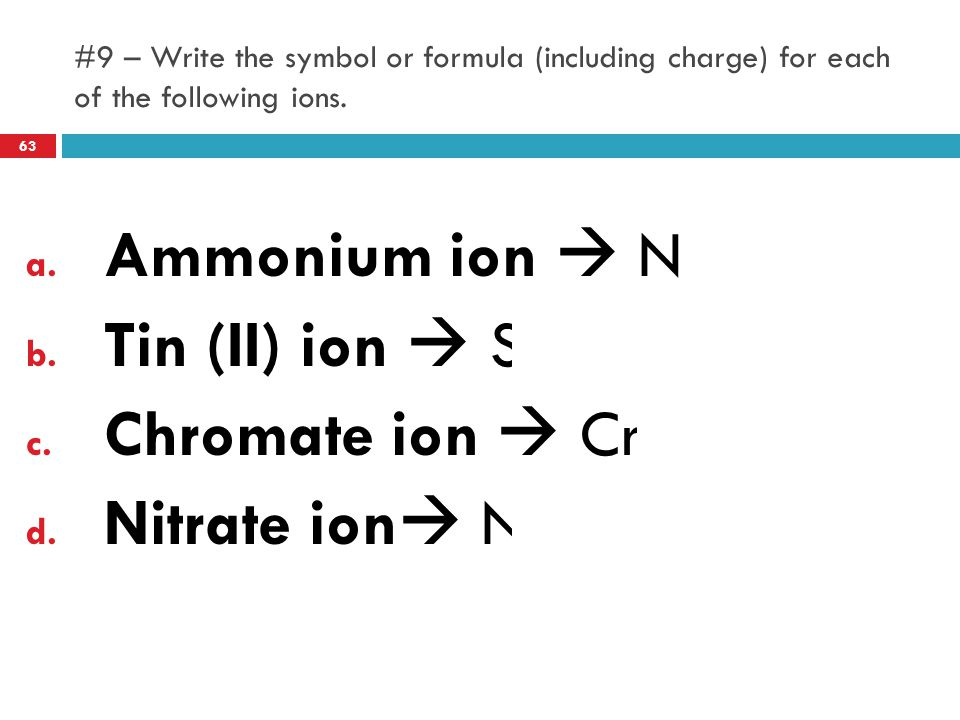 Chromium Nitrate Chemical Formula
