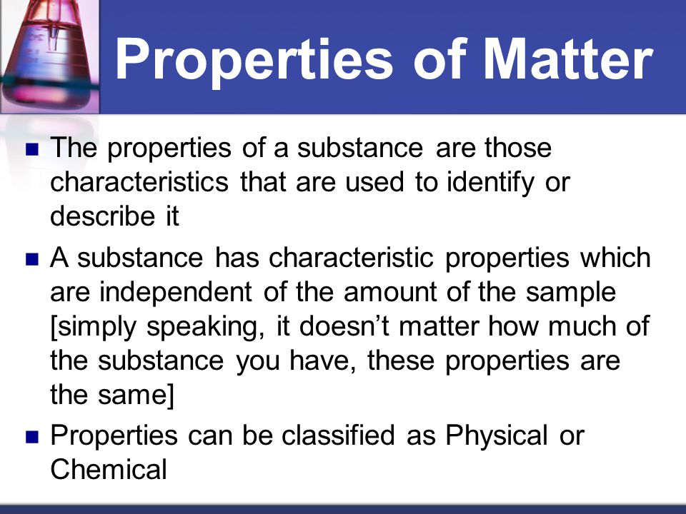 What How And Substance Chemical Are Are Changes Used And They Physical