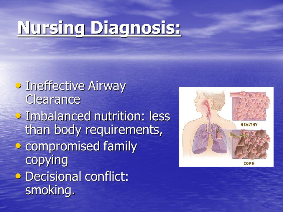 nursing diagnosis for copd