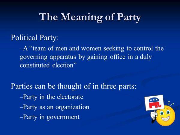 Political Parties. - ppt video online download