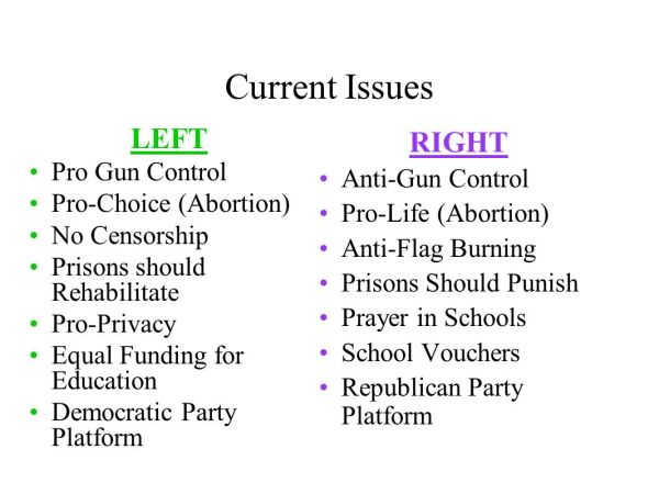 """Liberals, Conservatives, and the """"in-between"""" - ppt download"""