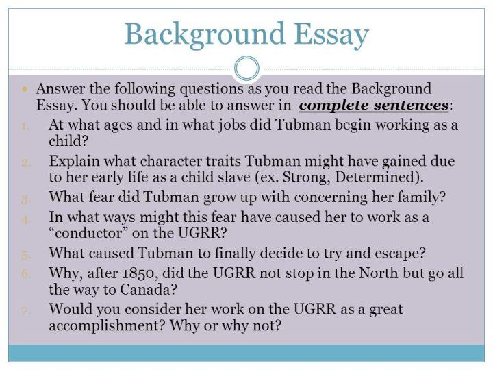 greatest achievement essay docoments ojazlink what was harriet tubman greatest achievement dbq essay