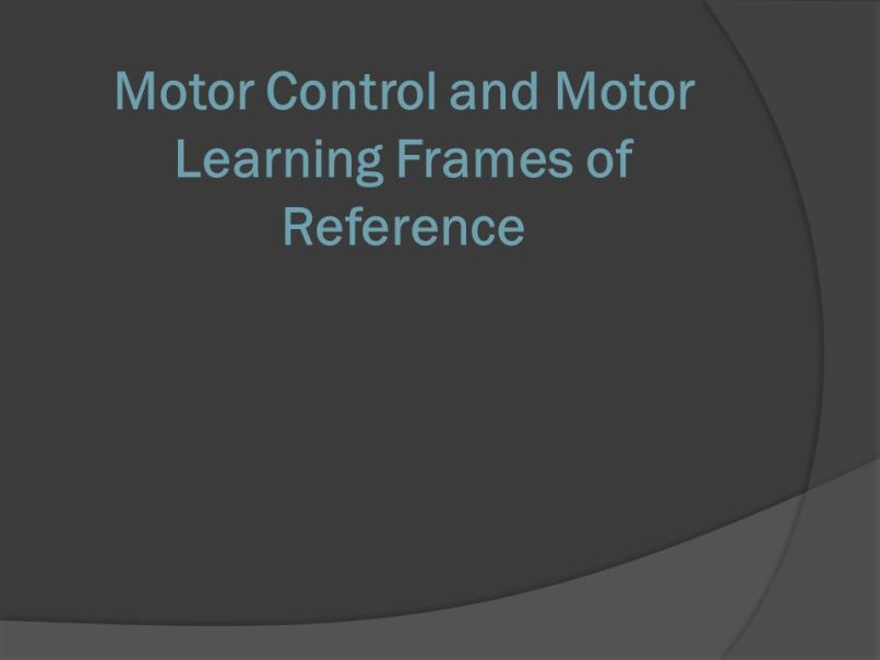 Modern Biomechanical And Rehabilitative Frames Elaboration - Framed ...
