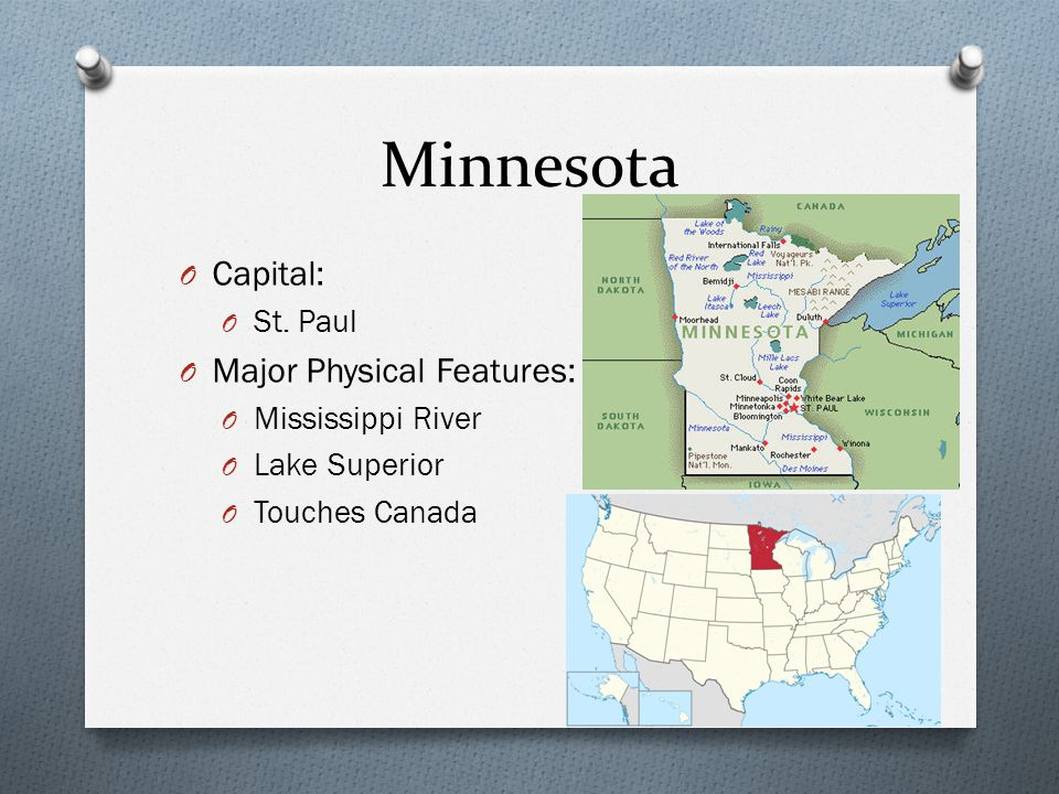 Physical Features Mn
