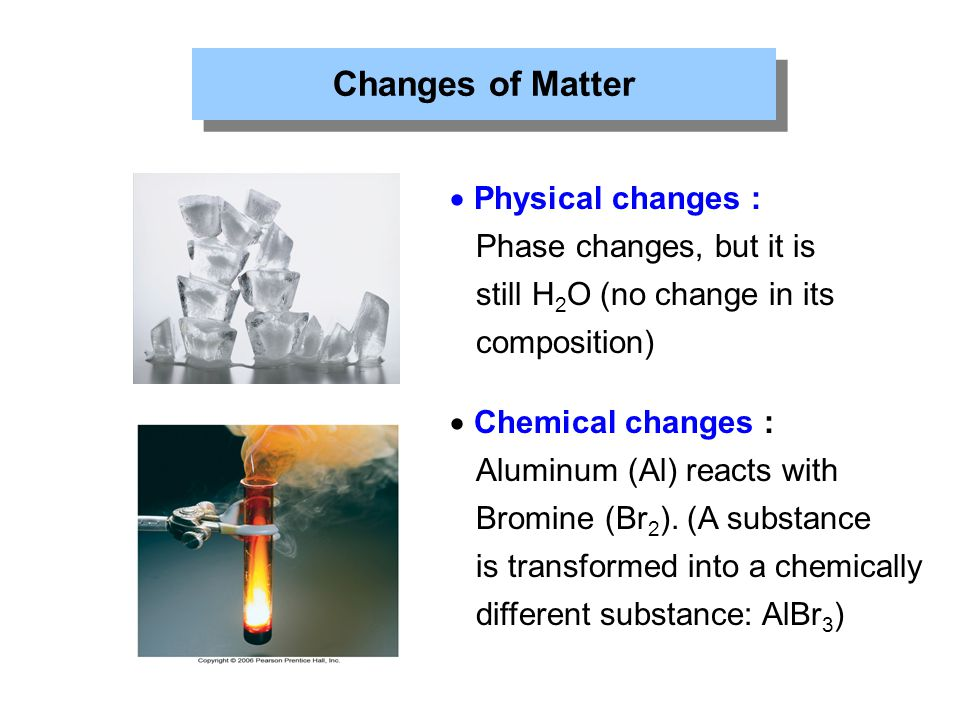 Used They Changes Physical Are Are What Chemical How And Substance And