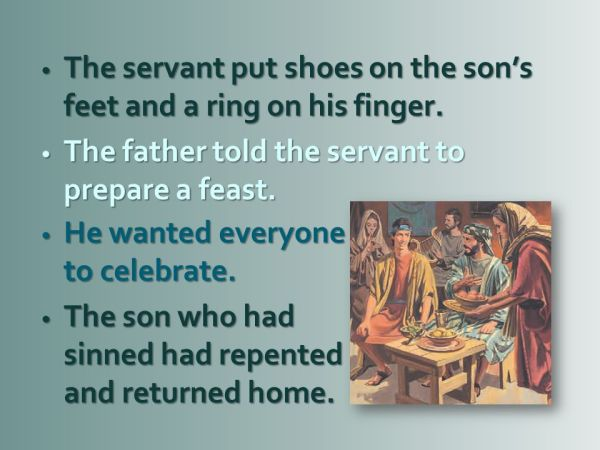 The Lost Sheep, the Lost Coin, and the Prodigal Son - ppt ...