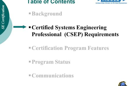 Free Resume 2018 » systems engineering certification   Free Resume
