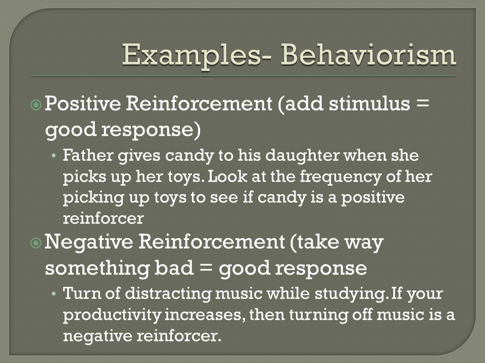Positive Reinforcement Psychology