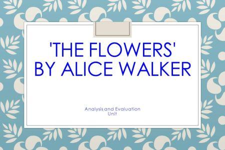 The Flowers By Alice Walker Symbolism Flower Shop Near Me Flower