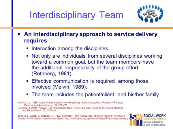 Team Form & Functions: From Multi-Disciplinary to ...