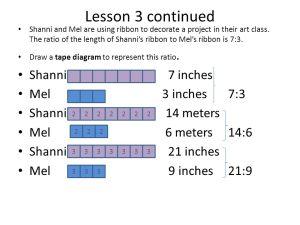 NYS Core Curriculum lesson 3 Equivalent Ratios  ppt video