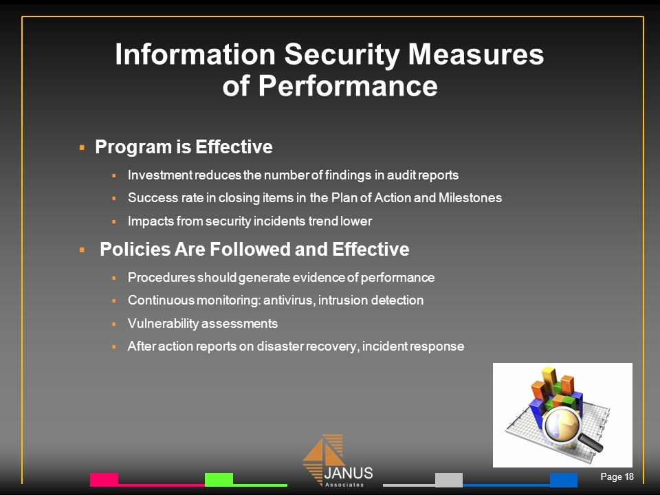 Information Security Summary Policy Executive