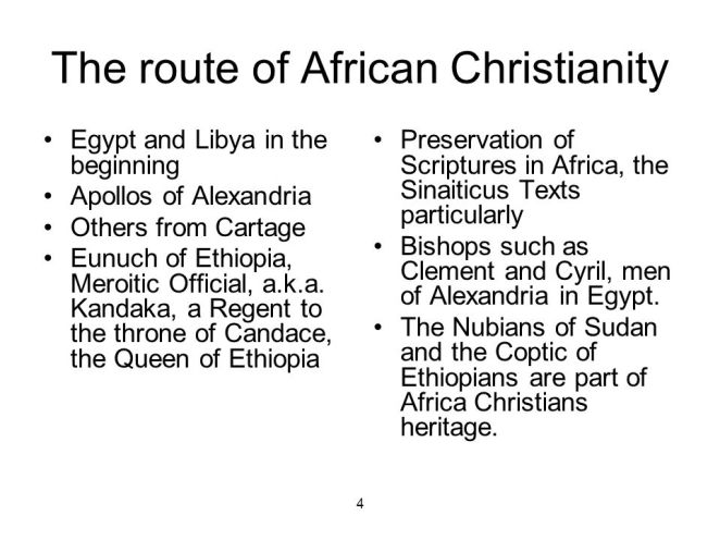 Image result for beginning of african christianity