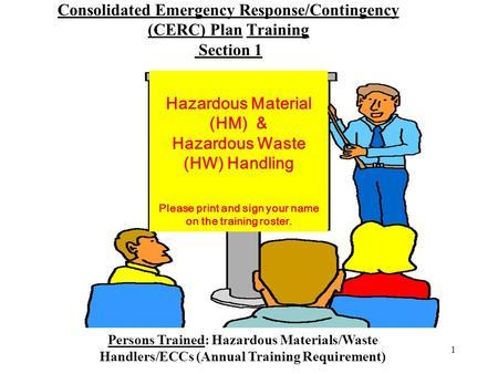 1 Hazardous Materials Business Plan Training Topic 3 ...