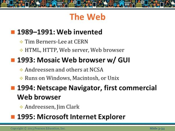 Chapter 3 E-commerce Infrastructure: The Internet, Web ...