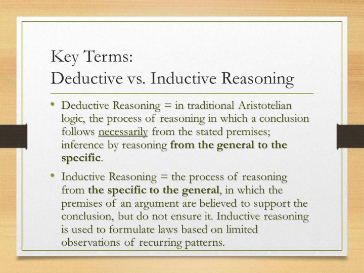 Inductive Reasoning Example] Inductive Reasoning Examples Alisen ...