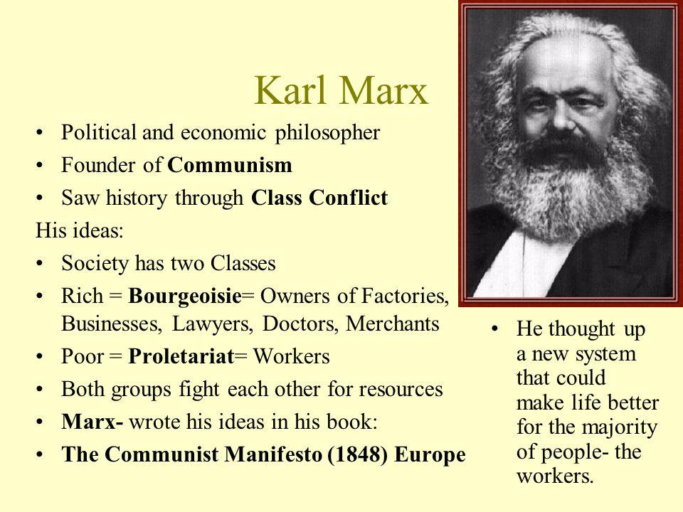 Karl Marx Philosophie