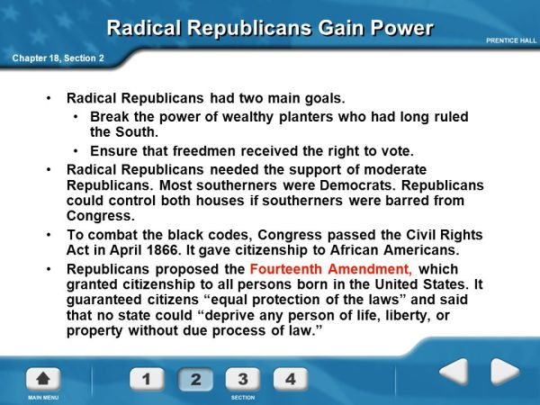 Reconstruction and the Changing South, 1863– ppt download