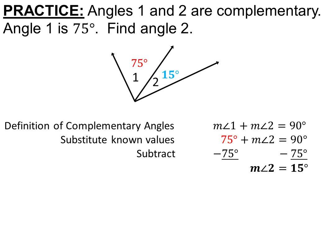 Worksheet Complementary Angle Worksheet Worksheet Fun