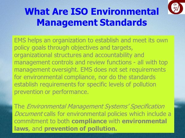 Contractor Management and ISO 14001: ppt video online download