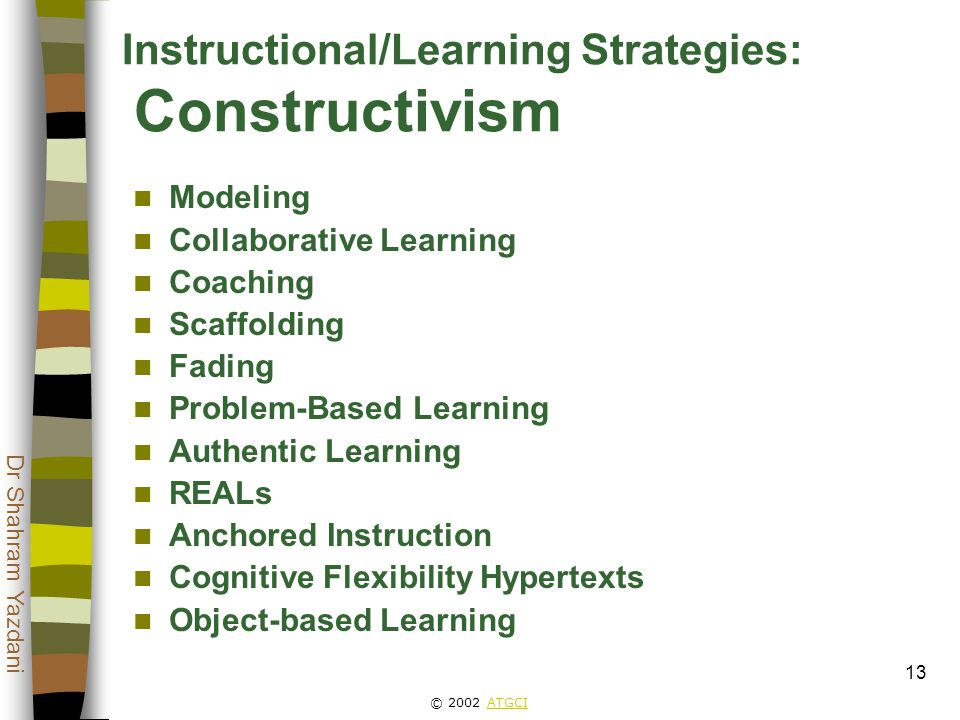Instructional Scaffolding Examples