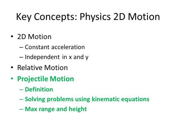 Projectile Motion: Physics of Baseball September 22, ppt ...