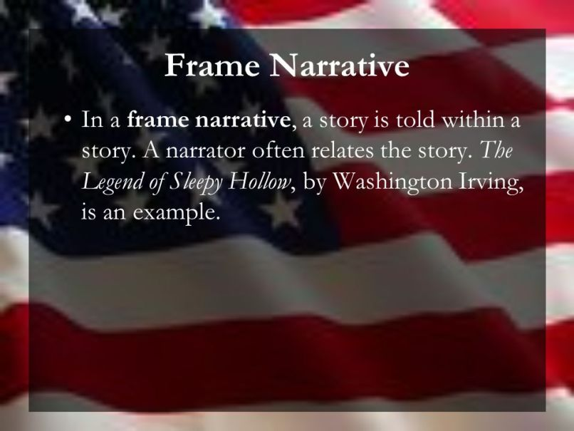 Example Of Frame Story In Literary | Frameswalls.org