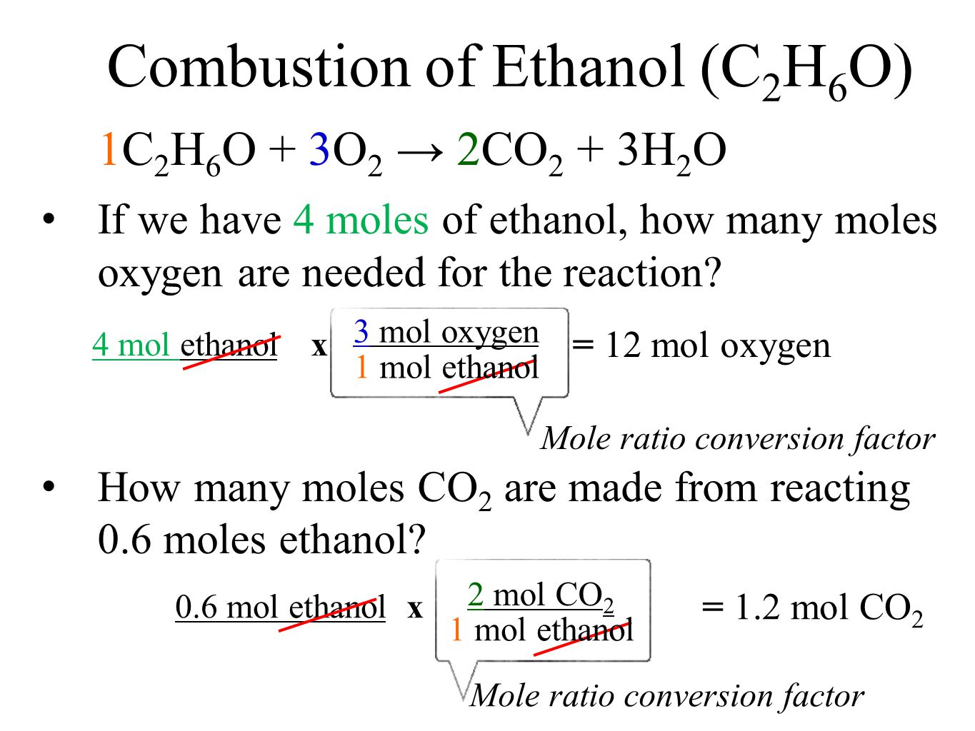 Combustion Chemical Equations Worksheet