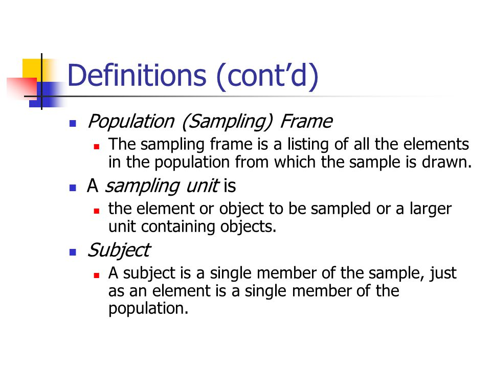 Example Of Sampling Frame In Research Methodology | Framess.co