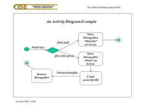 The Unified Modeling Language (UML)  ppt download
