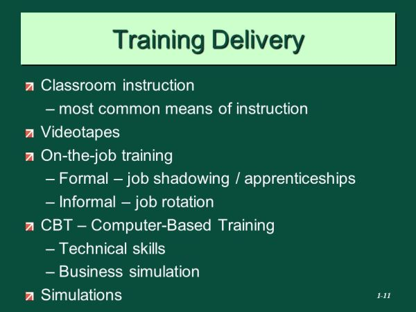 EMPLOYEE Training and Development - ppt video online download