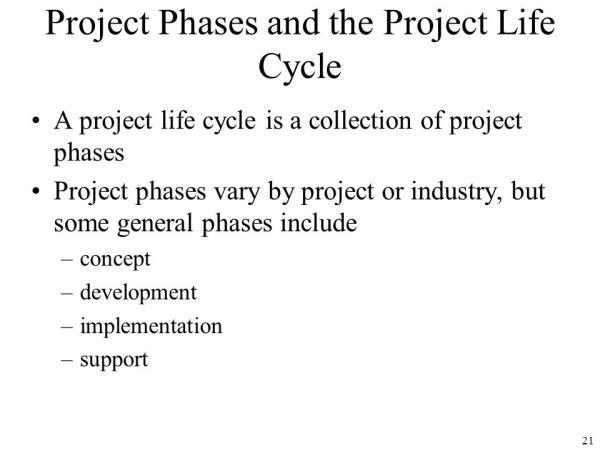 Chapter 2: The Project Management and Information ...