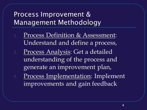 Process Improvement & Management - ppt download