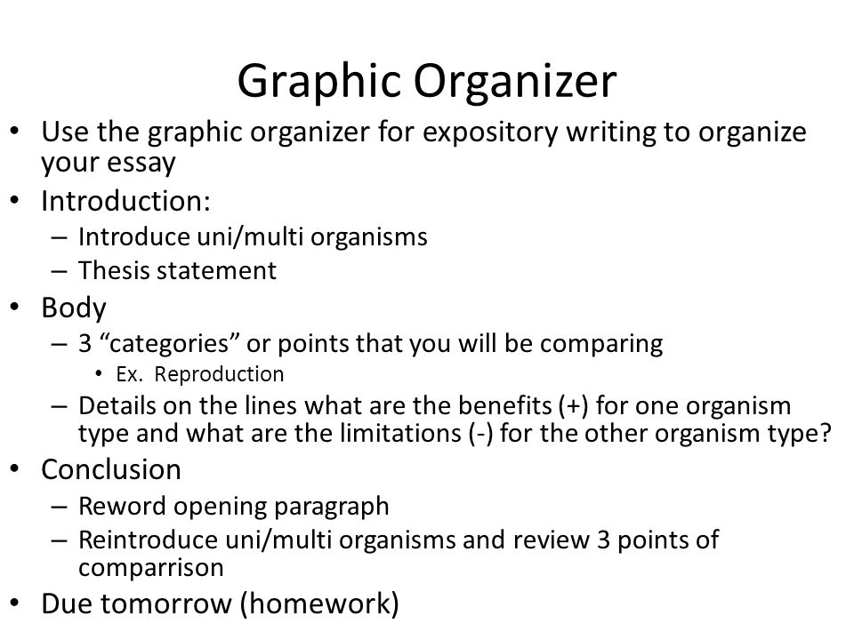 Writing Organizer Who What Where When Why How
