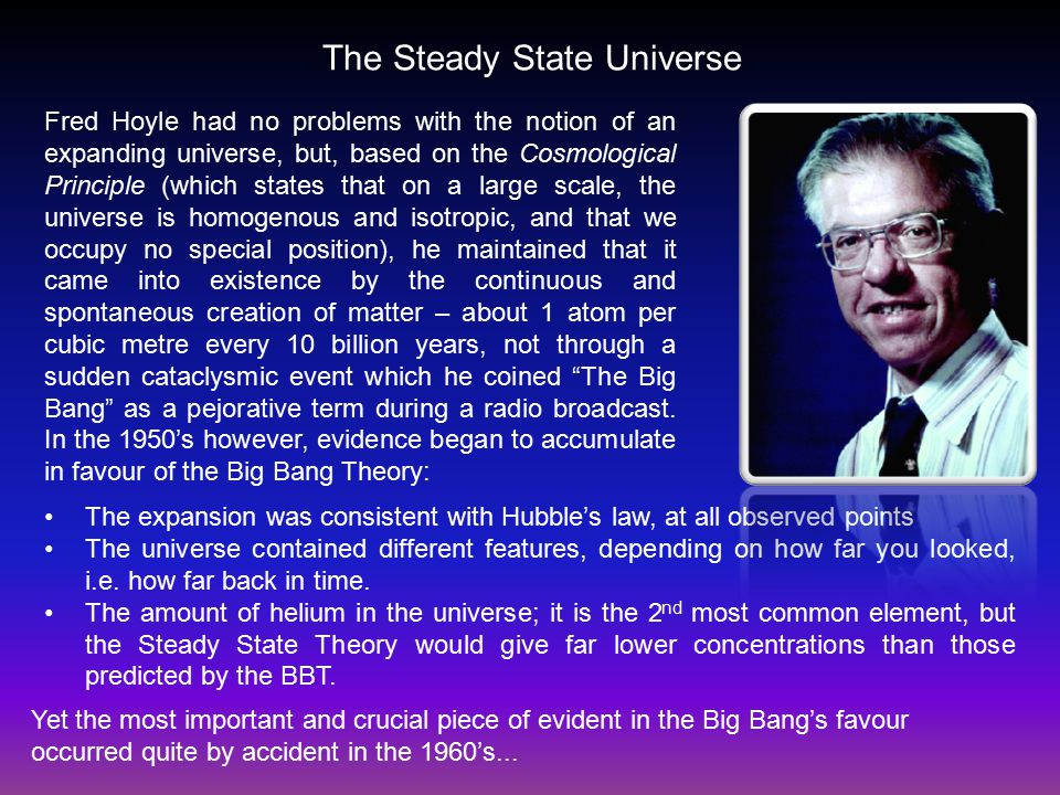 Image result for steady state universe
