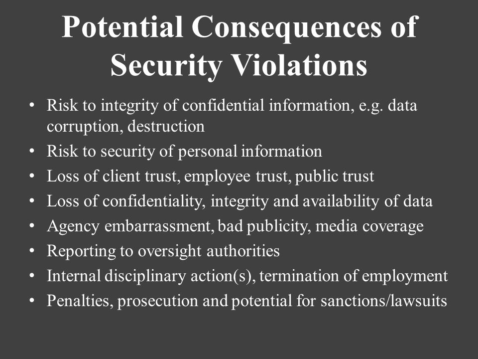 Policy Information Security Ppt