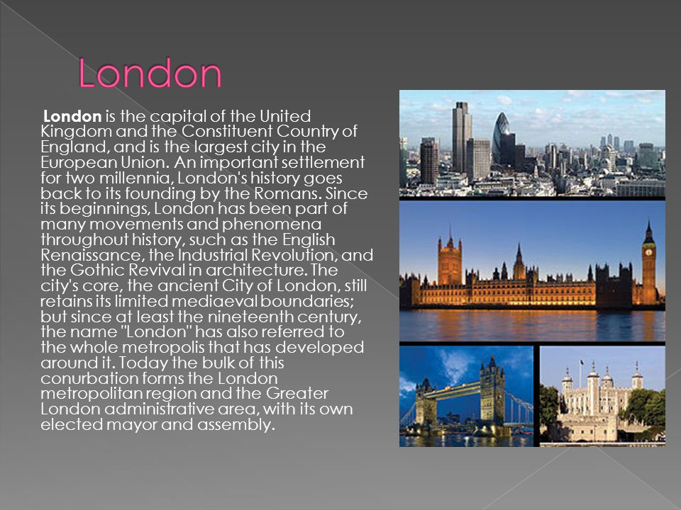 London Capital England
