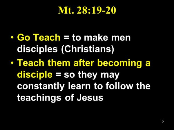 What It Means To Be A Disciple - ppt video online download