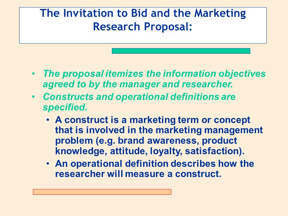 What does invitation to bid means rezzasite defining the problem and determining research objectives ppt stopboris Image collections