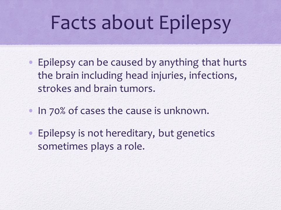 Seizures Can Caused Be