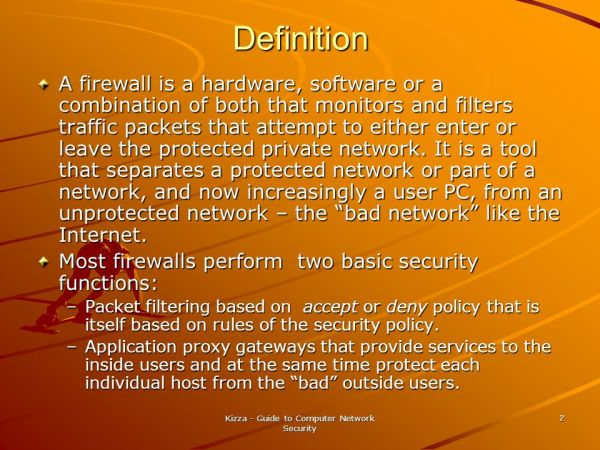 Guide to Computer Network Security - ppt download
