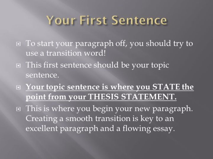 ways to start the first paragraph in an essay If you know what to expect and understand how to write a five paragraph essay, you will be prepared to tackle any essay writing prompt types of essays on standardized tests when you begin to write your essay for a standardized test, you must first decide what type of essay you are being asked to write there are many.