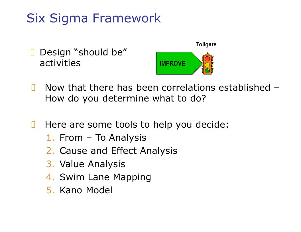 Six Sigma Leadership Overview Blue Cross Blue Shield