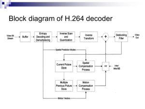 Optimization of H264AVC Baseline Decoder on ARM9TDMI
