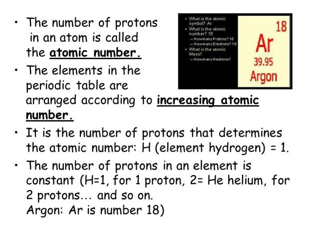 Is the elements on periodic table arranged by number of neutrons atoms the periodic table ppt refined arrangement urtaz Images