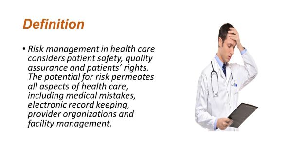 Risk management planning related to Health Information ...