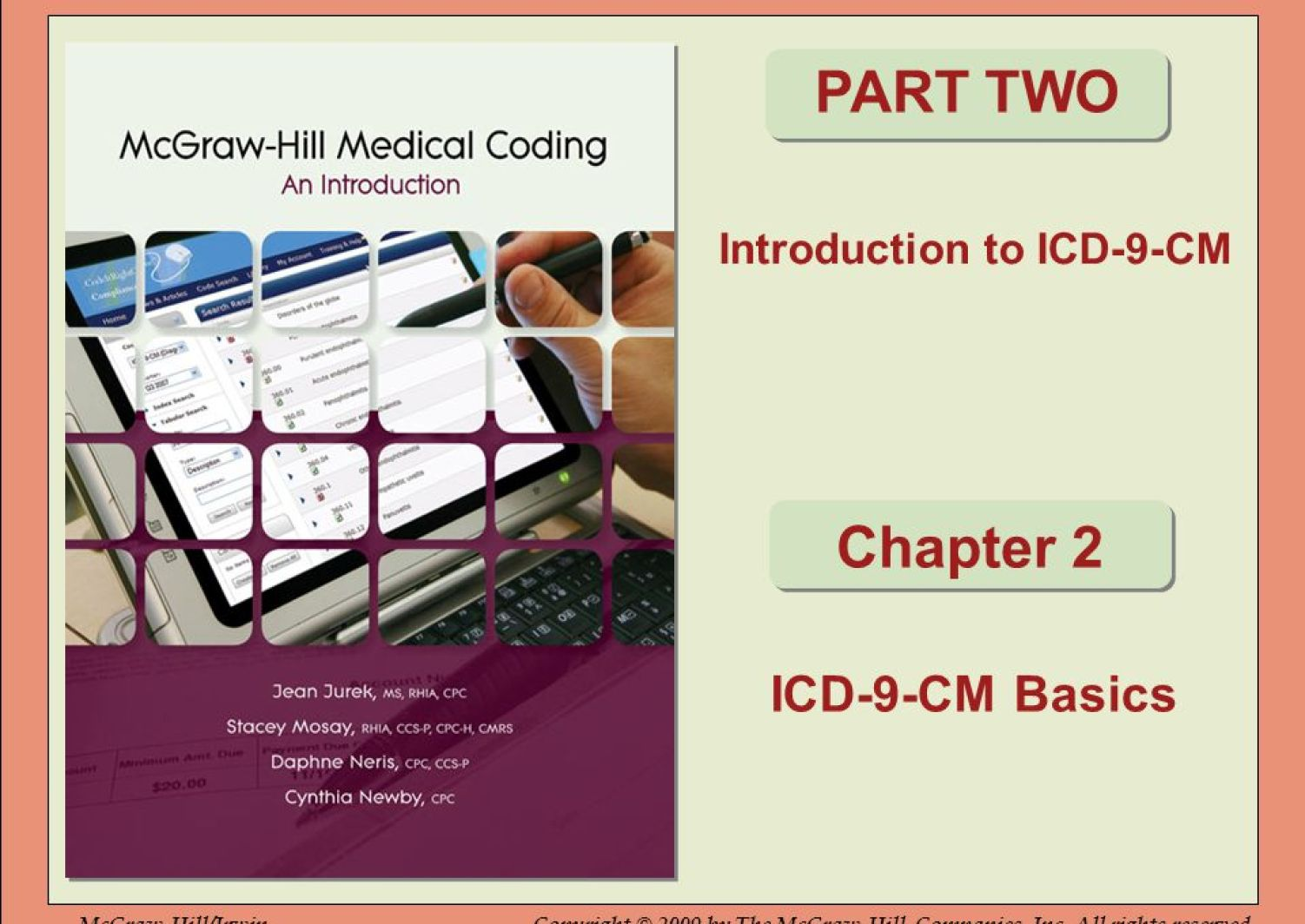 Introduction To Icd 9 Cm Ppt Video Online Download